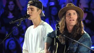 "Justin Bieber & Dan Kanter ""Hold Tight""  Acoustic Evening With JB Chicago"
