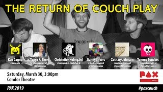 The Return of Couch Play at PAX East 2019