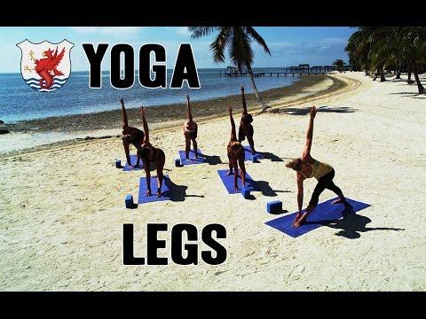 Swimisodes - Yoga for Swimmers - Legs
