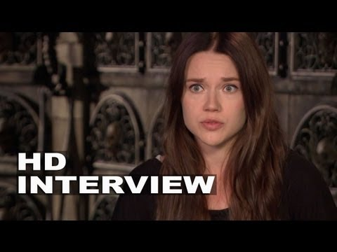 "The Mortal Instruments: City of Bones: Jemima West ""Isabelle"" On Set Interview"