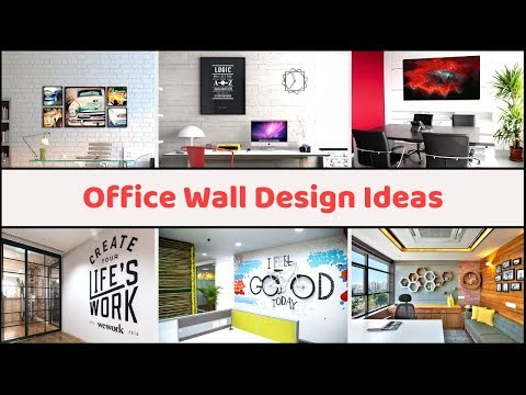 100 Office Wall Design Ideas To Increase The Productivity