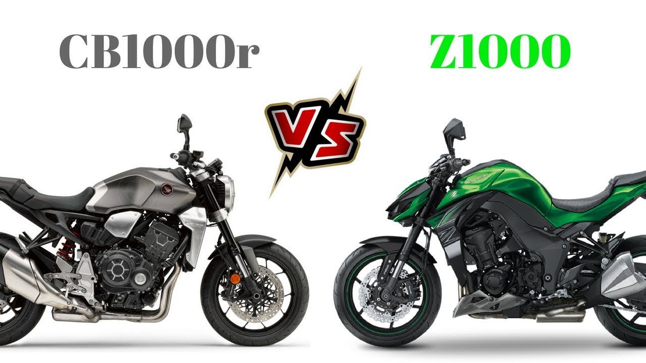 Honda Cb1000r Vs Kawasaki Z1000 Youtube
