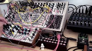 Live Jam #183 – Industrial / Percussion – Eurorack, Erica Synths wavetables, MMG, Korg SQ-1