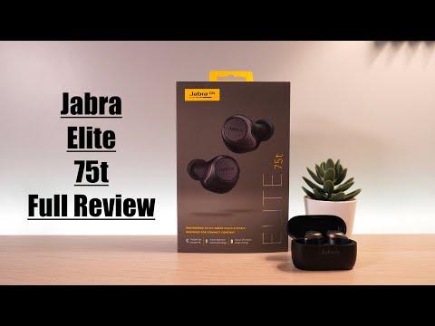 Jabra Elite 75t True Wireless EarBuds - Full Review