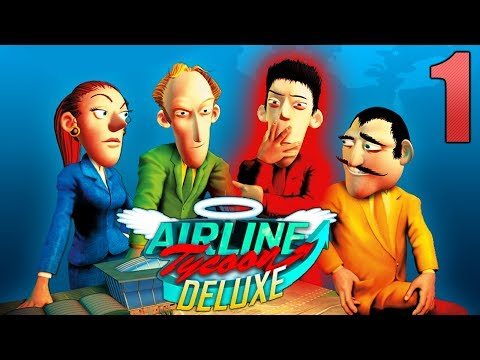 Airline Tycoon || Free Game #1 (Phoenix Travel)