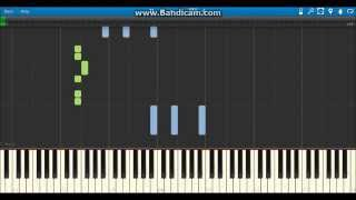 """I Won't Do What You Tell Me"" Steve Austin WWE Theme - Piano (Synthesia)"