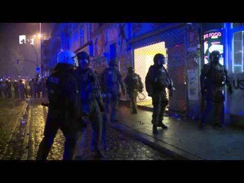 G20 Hamburg SEK stürmt Haus auf Schanze nach Krawallen