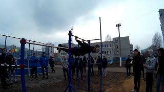 Street Workout   Ульяновск 2015   3 открытые соревнования