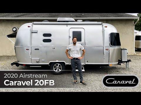 2020 Airstream Caravel 20FB Walk Through Small Light Weight Travel Trailer Caravan