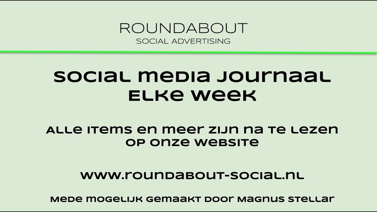 Het social media journaal van week 18