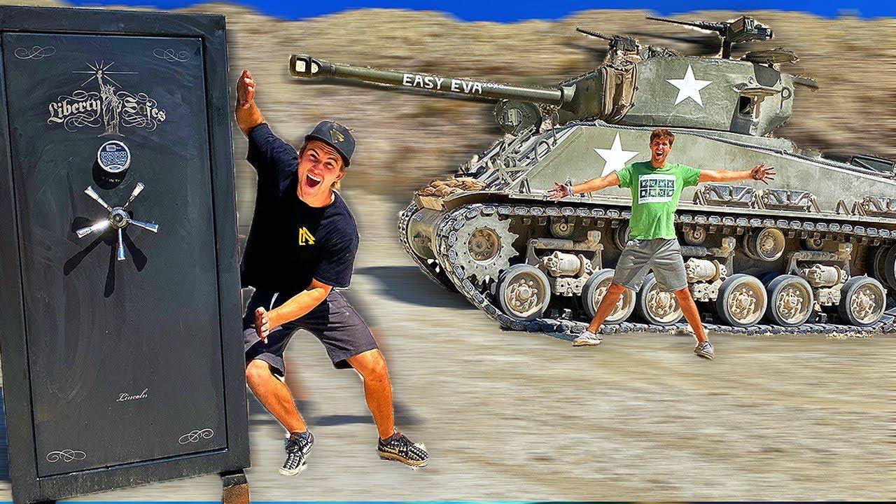 Tank VS Unbreakable Safe!