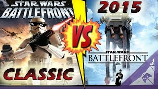 Is Star Wars Battlefront 2015 Better Than Classic Star Wars Battlefront 2?