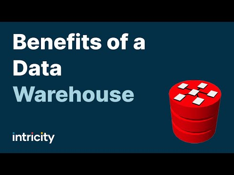 Benefits of a Data Warehouse