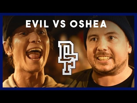 EVIL VS OSHEA | Don't Flop Rap Battle