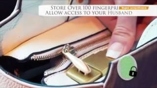 Сумка, которая открывается по отпечаткам пальцев и заряжает гаджеты   цена