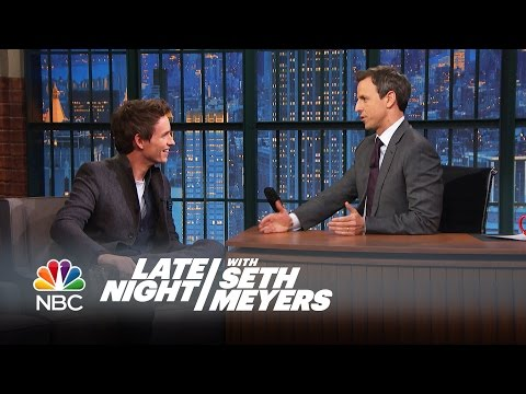 Thumbnail: Amy Poehler Thinks Eddie Redmayne and Seth Are Doppelgangers - Late Night with Seth Meyers
