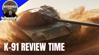 K91 WORLD OF TANKS BLITZ GUIDE & REVIEW