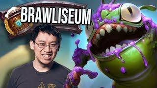 Brawliseum! How Far Can Shaman Take Me?! | Saviors of Uldum | Hearthstone