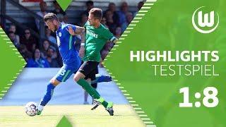 Veltins Auswahl - VfL Wolfsburg 1:8 |Highlights + Tore | Testspiel