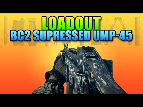 Loadout Bad Company 2 UMP-45 Engineer | Battlefield 4 PDW Gameplay