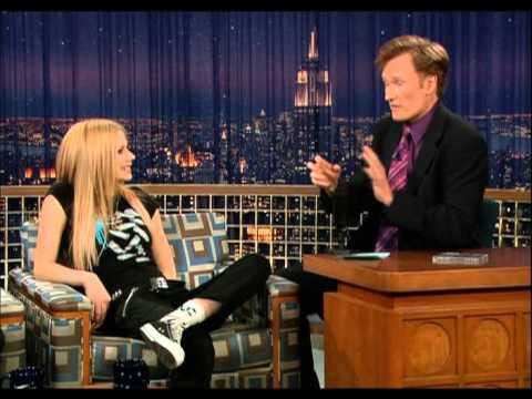 Avril Lavigne - Interview @ Conan O'Brien 16/12/2004
