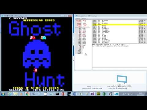 Pac-Man assembly language home brew game - Ghost Hunt