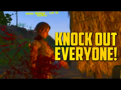 KNOCK OUT EVERYONE (ARK: Survival Evolved)