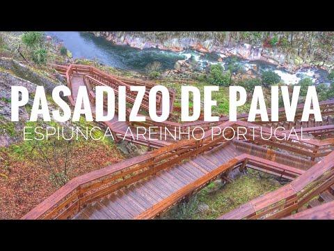 """Pasadizo de Paiva✔️Espiunca🔛Areinho🇵🇹Portugal🇵🇹Aveiro """"Pasarela de Paiva"""""""