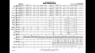 Bad Romance arranged by Paul Murtha