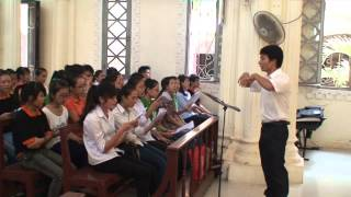 Khát mong Tình Chúa - SVCG Hải Hà - Thánh Lễ T9 2013