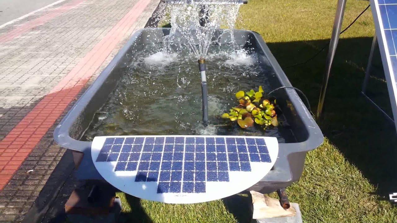 piscinas naturales y depuradora - energía solar - http