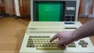 Sharp MZ-800 loading Basic