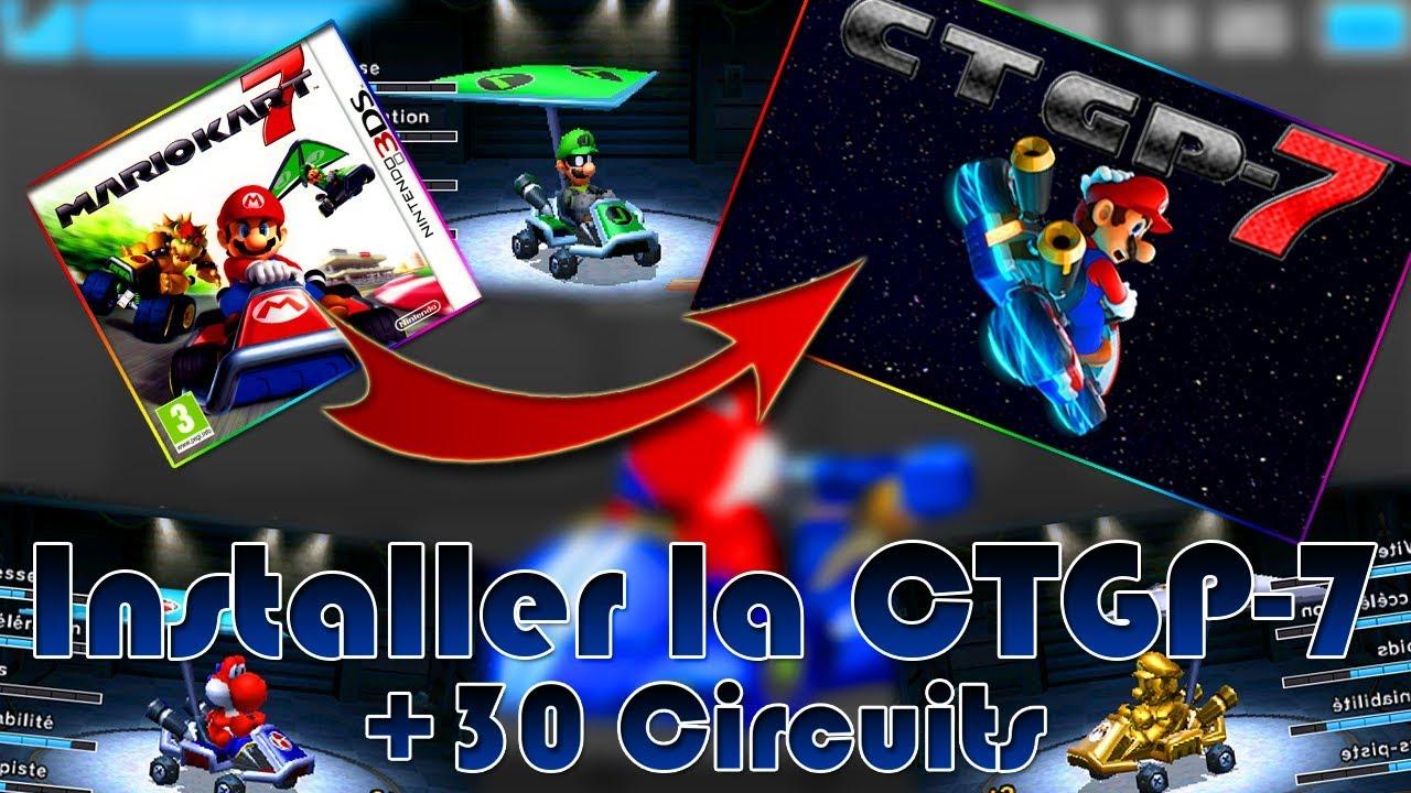 👾 Installer la CTGP-7 sur Mario Kart 7   Avoir de nouveaux circuits !