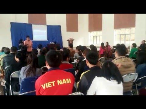 Tập huấn giáo dục kỹ năng sống VD1