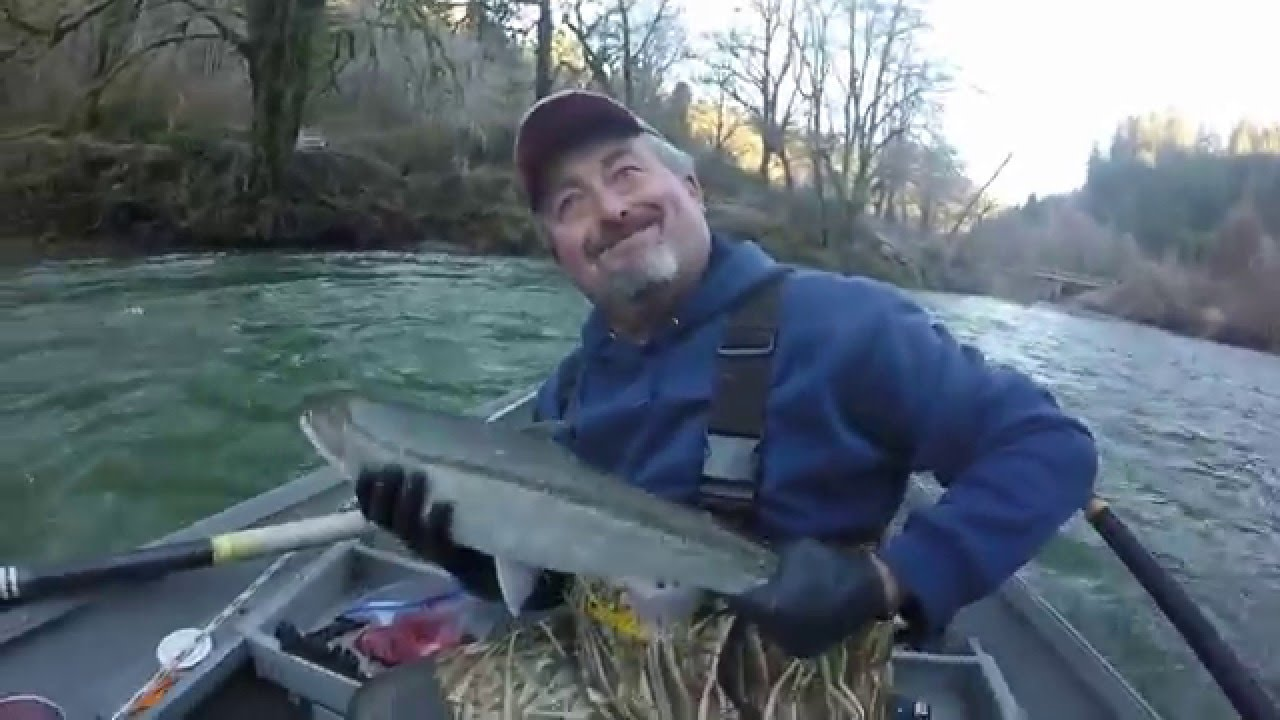 Fishing the alsea river 1 1 16 in oregon youtube for Oregon out of state fishing license