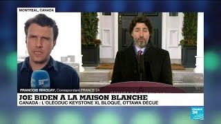 Canada : Joe Biden bloque l'oléoduc Keystone XL, Ottawa déçu