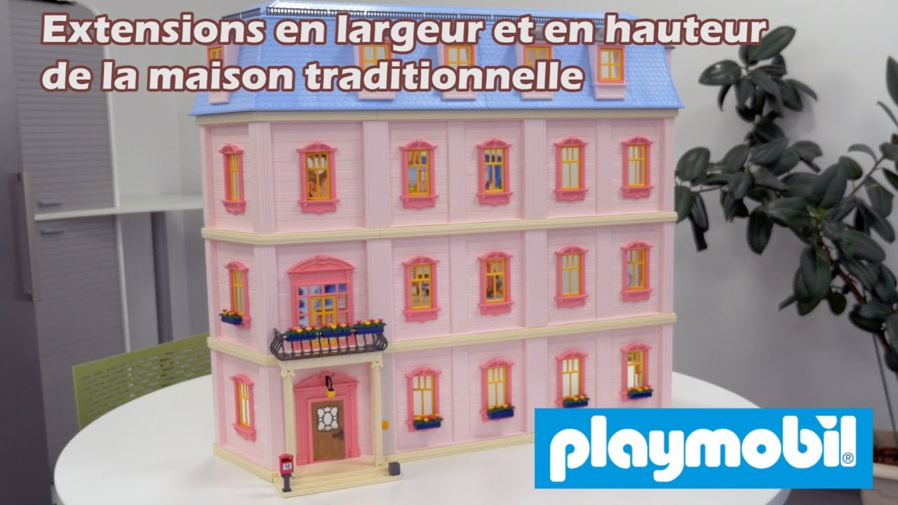 Extensions de la maison traditionnelle de playmobil for Voir interieur maison moderne