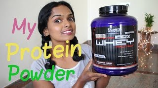 ALL ABOUT MY PROTEIN POWDER | RANJU