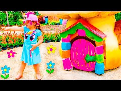 Amusement park in Bangkok with Agnes