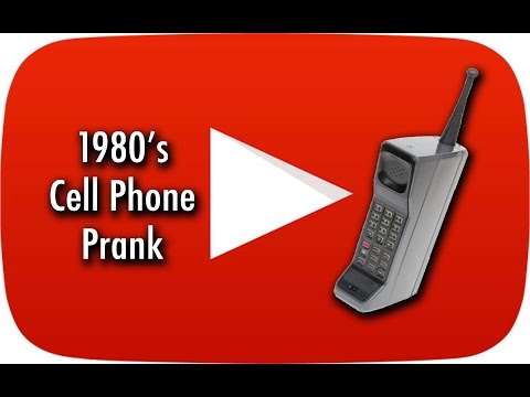 1980's Cell Phone Prank at Venice Beach