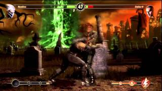 Mortal Kombat 9 : Gameplay Online (PS3) [HD]