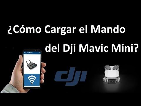 ¿Cómo Cargar El Mando Del DJI Mavic Mini?