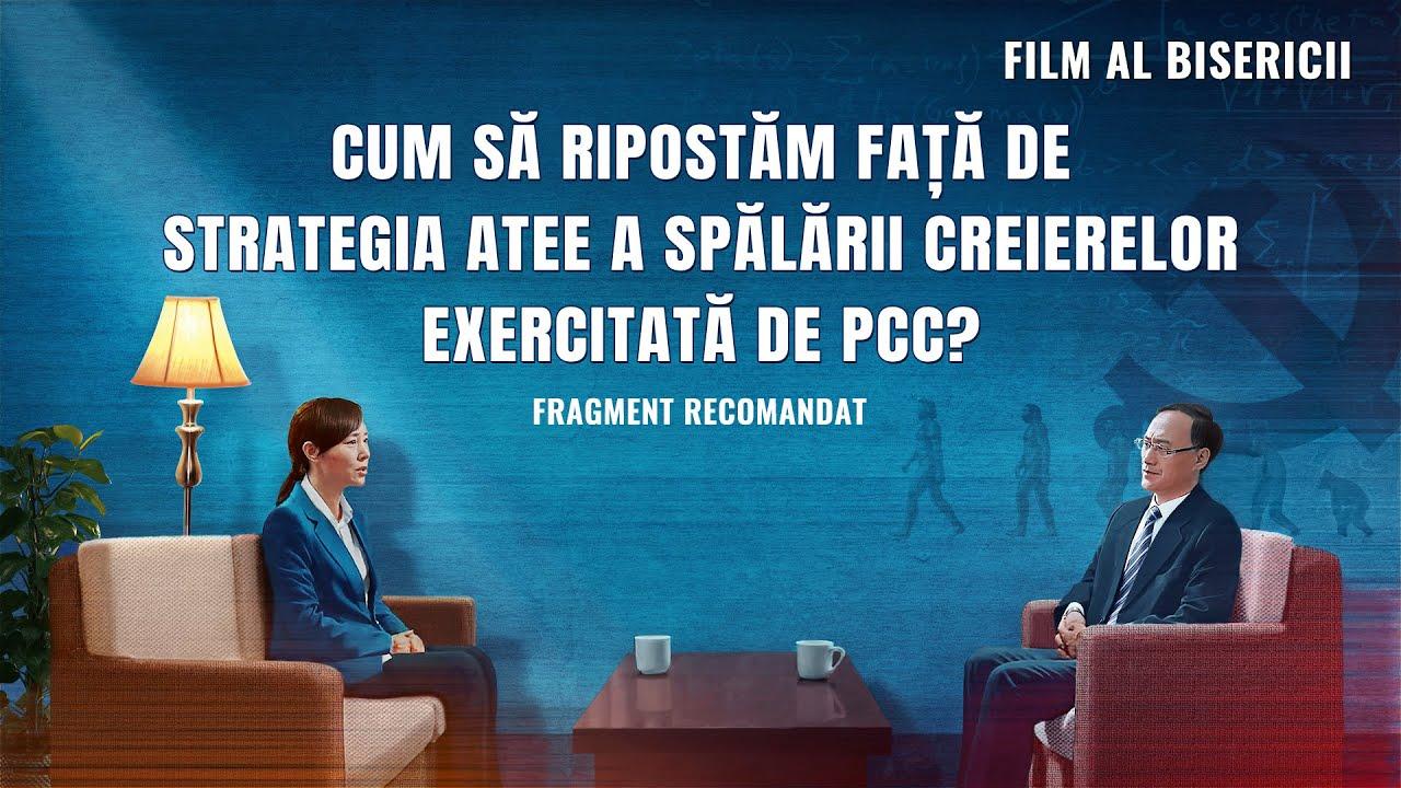 """""""CONVERSAŢIA"""" Segment 2 - Cum ripostează creştinii faţă de strategia atee a spălării creierelor exercitată de PCC?"""
