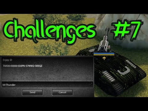 Tanki Online Challenges Video #7 - Send Promo Code To MrThudner!