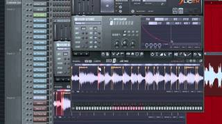 FL Studio 10 - Swing House - SliceX
