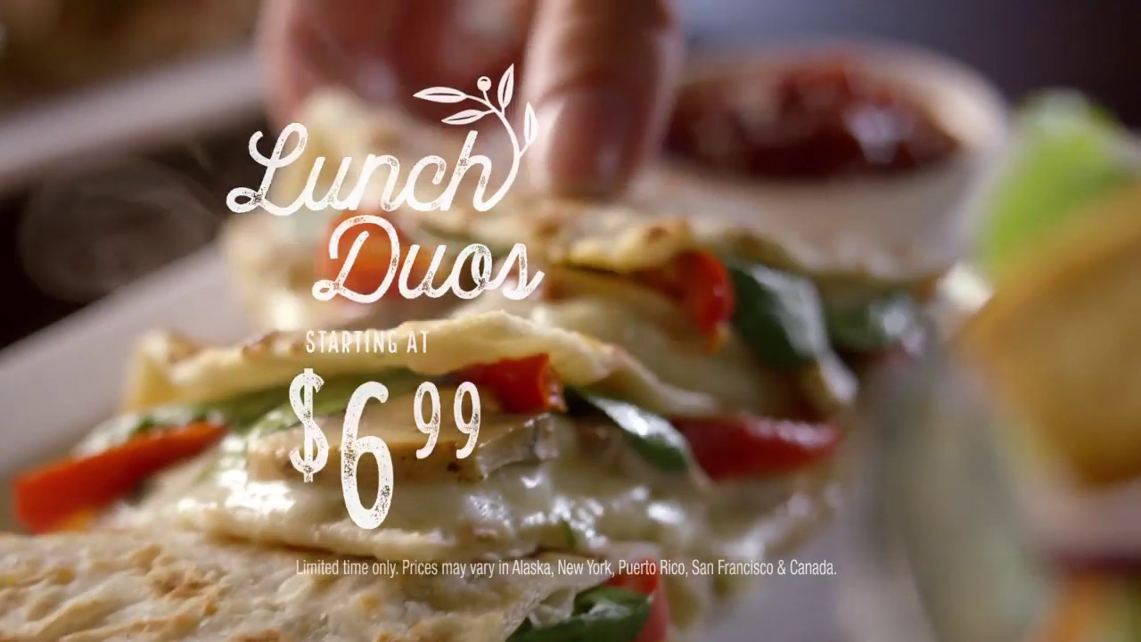 Never Ending Value for Lunch at Olive Garden - YouTube