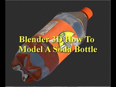 Blender 3D Soda Bottle (R.W.M)
