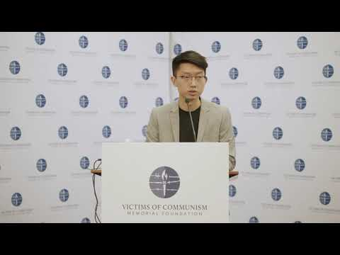 Sunny Cheung at VOC's Hong Kong Human Rights Forum
