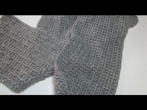 How To Crochet Scarf Man Easy Beginner Tutorial Diy Youtube