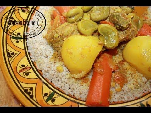 recette-de-couscous-à-l'orge-كسكسو-بلبولة-barley-couscous
